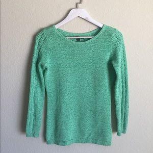 Rachel Zoe Cotton Blend Knit Sweater